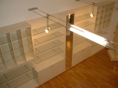 Negozi e uffici vantellino arredamenti produzione mobili for Negozi mobili milano